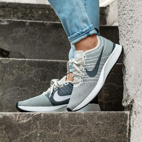 de6f0329ad9 🍂Nike Dualtone Racer light bone dark grey sneaker